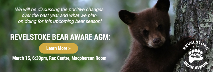 Revelstoke Bear Aware AGM