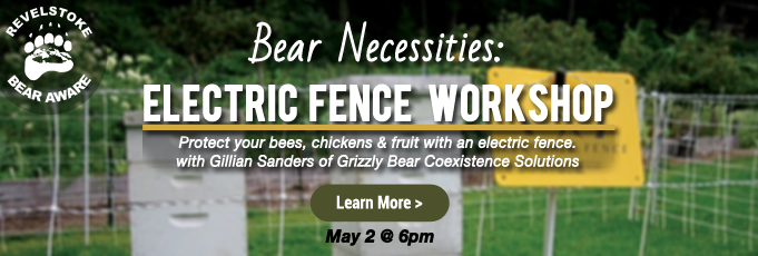 Revelstoke Bear Aware Bear Necessities Electric Fence Workshop