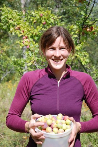 Natalie Stafl, Volunteer with The Gleaning Project